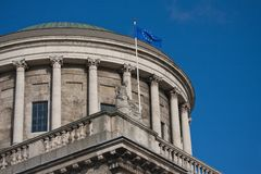Four Courts dome  Dublin Royalty Free Stock Photos