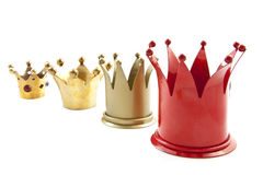 Four crowns Royalty Free Stock Photo