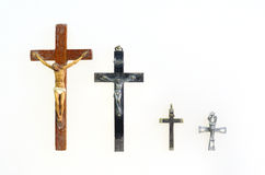 Four crucifix Royalty Free Stock Photography