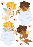 Four Cupids Stock Images
