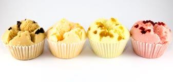 Four Cups Cake Stock Photos
