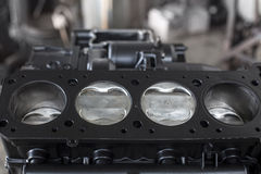 Four cylinders Stock Photos