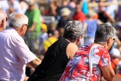 Four-day walking event royalty free stock photo