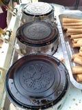 Four de moule pour le dessert thaïlandais de riz Photo libre de droits