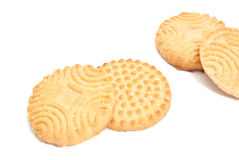 Four delicious cookies Royalty Free Stock Photos