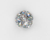 Four diamonds Stock Images