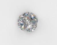 Four diamonds Stock Images