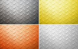 Four different background designs in four colors Royalty Free Stock Photo