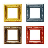 Four different picture frames Stock Photography