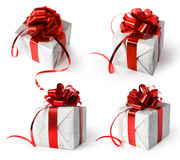 Four different presents Stock Image