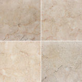 Four different texture of a light and dark marble. (high.res.) Stock Photography