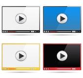 Video Players Stock Photography