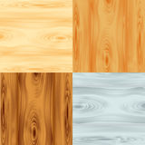 Four wood textures Royalty Free Stock Images