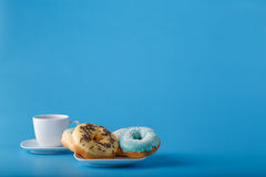 Four donuts Royalty Free Stock Image