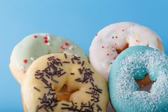 Four donuts Royalty Free Stock Photography