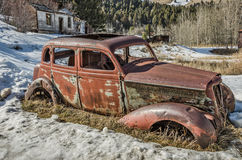 Four Door Antique Vehicle Royalty Free Stock Photos
