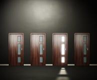 Four doors Stock Photos