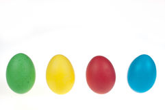 Four Easter eggs Royalty Free Stock Image