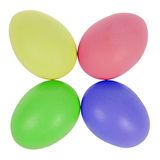 Four easter eggs in circle Royalty Free Stock Image