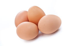 Four eggs Stock Images