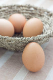 Four eggs Royalty Free Stock Photos