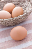 Four eggs Royalty Free Stock Image