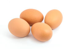 Four eggs Stock Image
