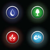 Four Element Royalty Free Stock Image