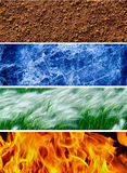 Four elements of the nature # 2 Stock Photo