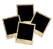 Four empty grunge frame Stock Image
