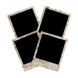 Four empty grunge frame Royalty Free Stock Images