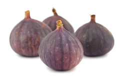 Four fig fruits royalty free stock photos