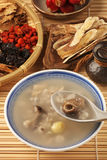 Four flavor herb soup Stock Images