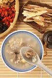 Four flavor herb soup. A Popular Taiwan food stock photos