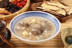 Four flavor herb soup. A Popular Taiwan food royalty free stock photos