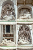 Four Fountains Rome Royalty Free Stock Photography