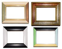 Four frames 03 Stock Images
