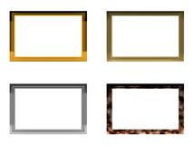 Four frames Royalty Free Stock Images