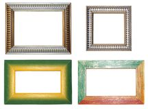 Four frames Royalty Free Stock Photography