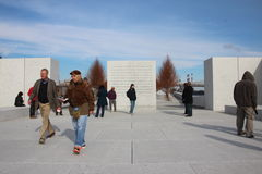 Four Freedoms Park Stock Images