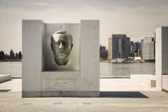 Four Freedoms Park, New York City Stock Photography