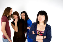 Four friends Stock Photography