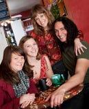 Four friends Stock Photo