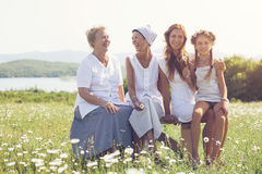 Four generations Royalty Free Stock Image