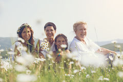 Four generations Stock Images