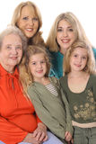 Four generations picture Stock Image
