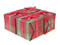 Four gift box Royalty Free Stock Photos