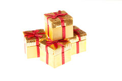 Four Gift Boxes Royalty Free Stock Photo