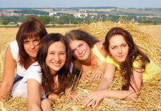 Four girls Royalty Free Stock Photo