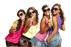 Four girls Royalty Free Stock Image